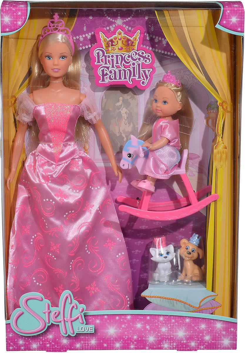 Кукла Simba Штеффи и Еви. 5733223 набор кукол simba штеффи и еви принцессы