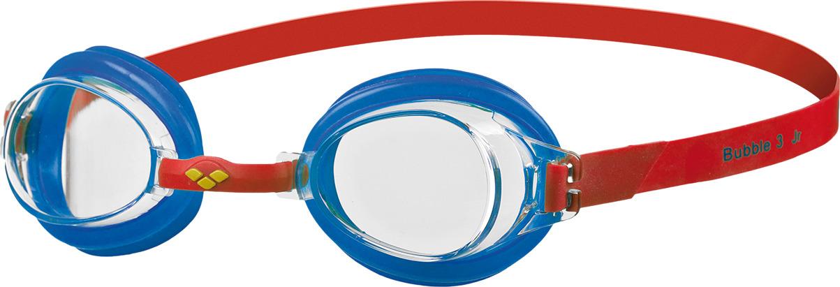 Очки для плавания детские Arena Bubble 3 Jr, цвет: красный, голубой. 92395 56 arena импортные плавательные очки противотуманные большие рамочные очки водонепроницаемые