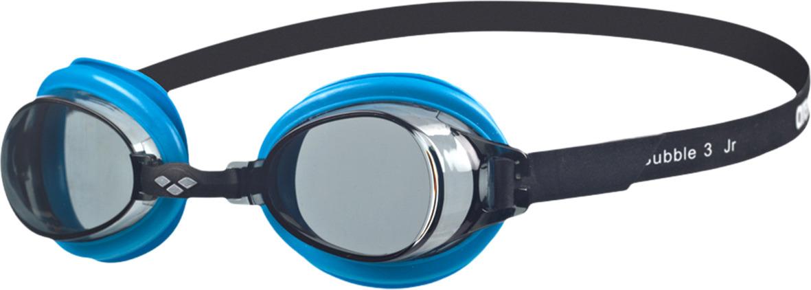 Очки для плавания детские Arena Bubble 3 Jr, цвет: дымчатый, синий. 92395 75 arena импортные плавательные очки противотуманные большие рамочные очки водонепроницаемые