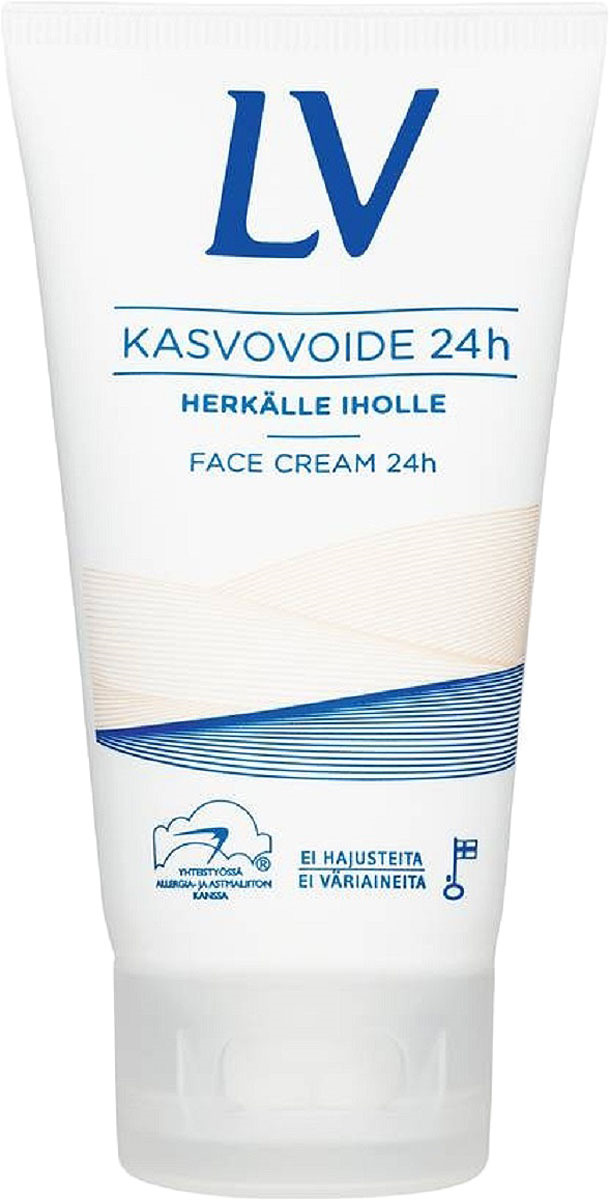 "Увлажняющий крем для лица LV ""24 часа"", 75 мл"