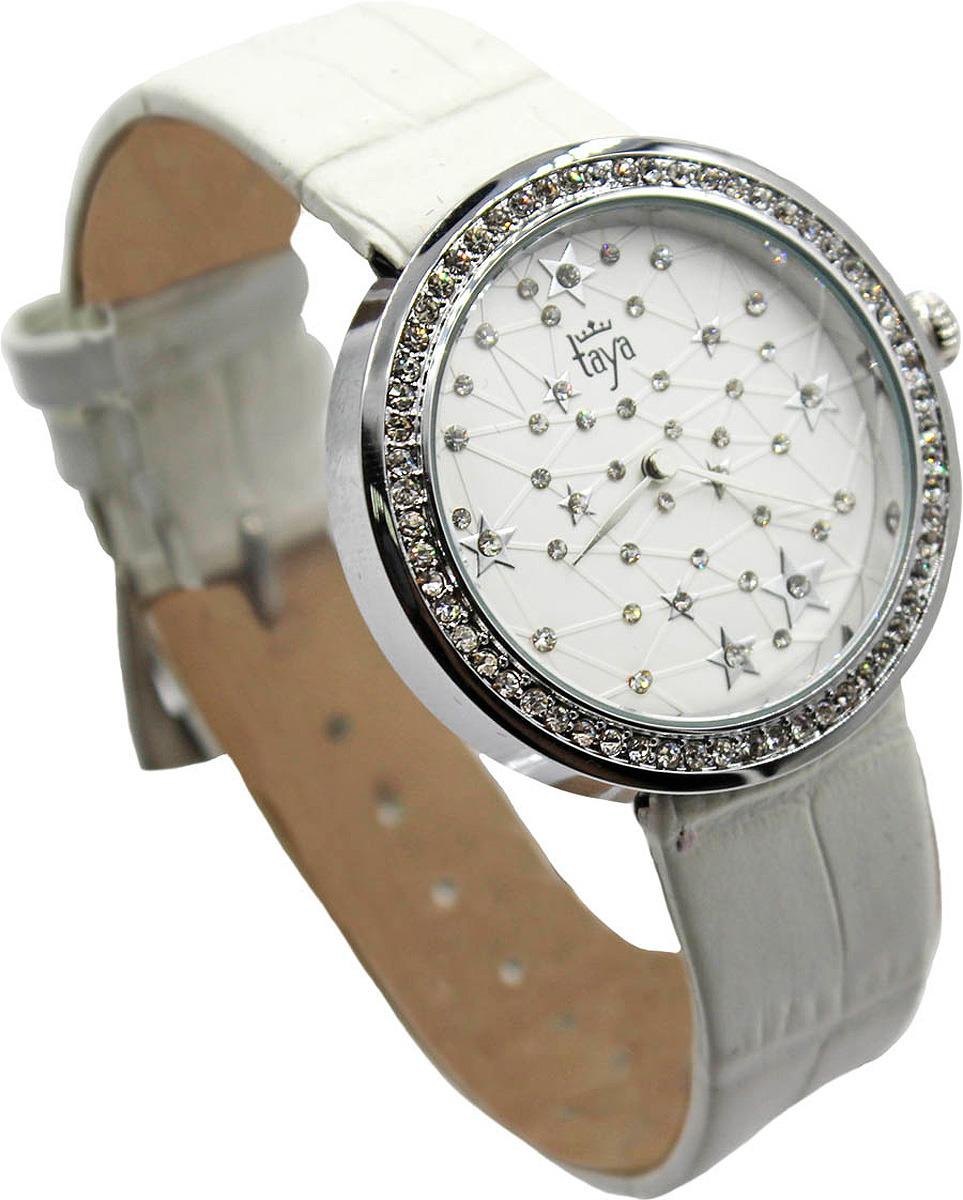 Часы наручные женские Taya, цвет: белый. T-W-0007-WATCH-SL.WHITE все цены