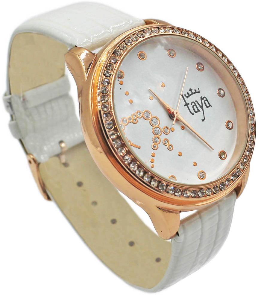Часы наручные женские Taya, цвет: белый. T-W-0028-WATCH-GL.WHITE все цены