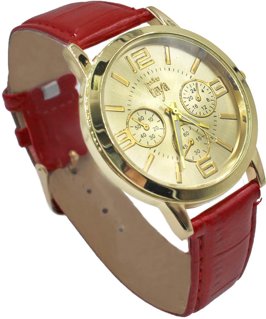 Часы наручные женские Taya, цвет: красный. T-W-0051-WATCH-GL.RED все цены