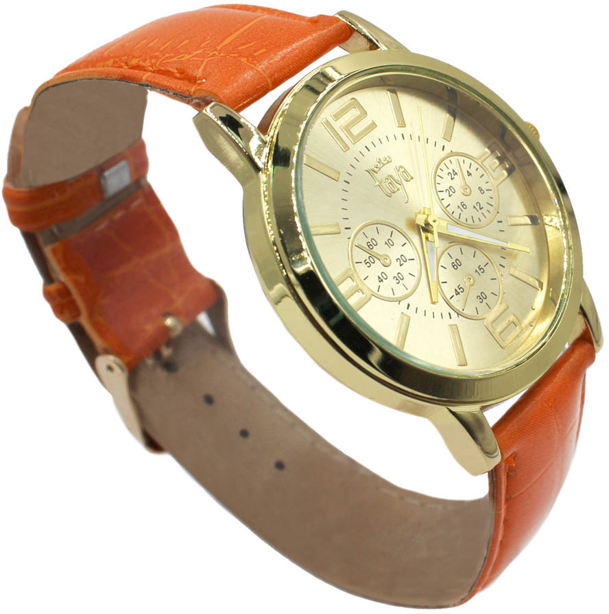 Часы наручные женские Taya, цвет: оранжевый. T-W-0055-WATCH-GL.ORANGE все цены