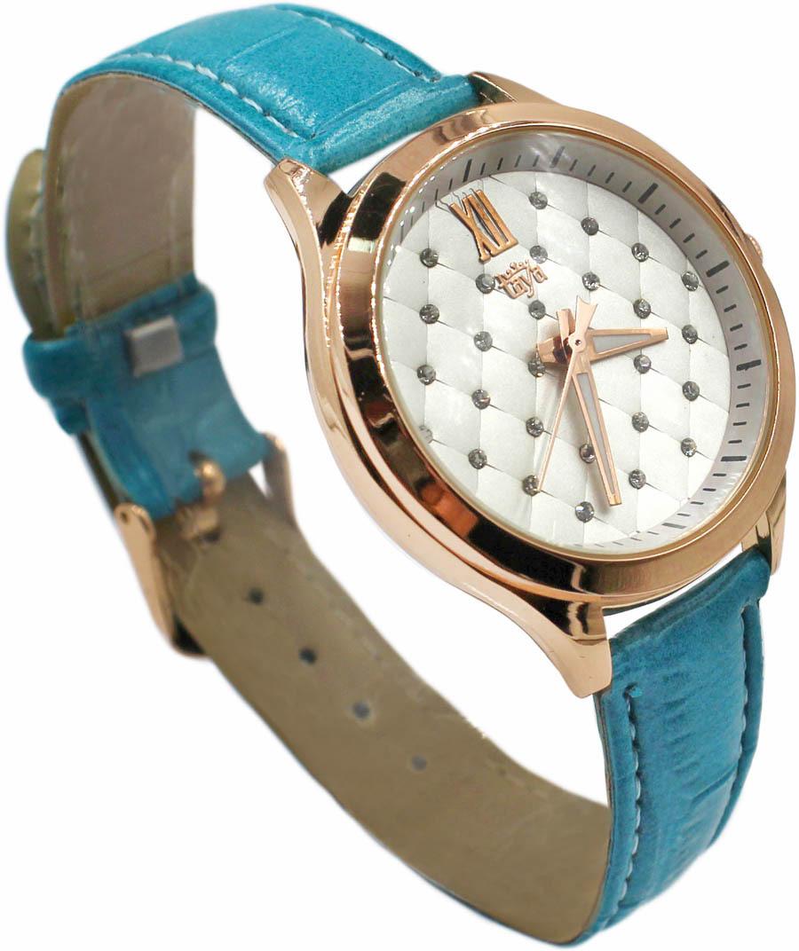 Часы наручные женские Taya, цвет: бирюзовый. T-W-0069-WATCH-GL.TURQ все цены