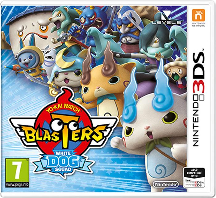 Yo-Kai Watch Blasters: White Dog Squad (Nintendo 3DS) цена