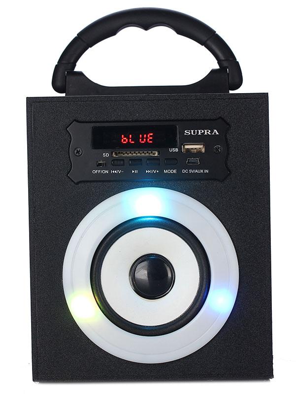 Беспроводная акустическая система Supra BTS-550 беспроводная колонка supra bts 545