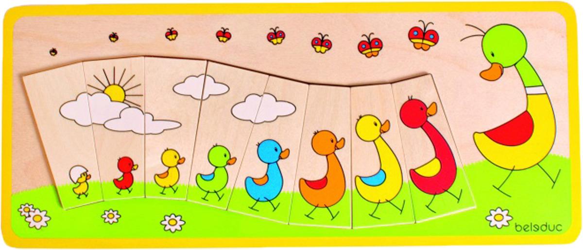 Beleduc Пазл для малышей Утиная семейка пазл дружная семейка 360 элементов