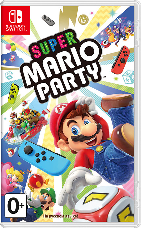 Super Mario Party (Nintendo Switch) new nintendo 2ds xl animal crossing edition gray портативная игровая приставка