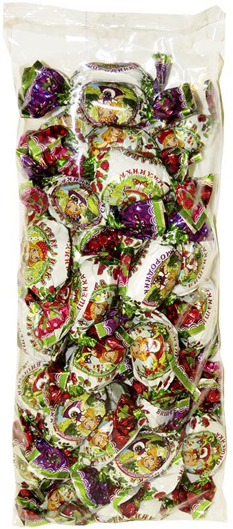 Конфеты Кремлинка Ассорти, смородинка малинка вишенка, 1 кг цена