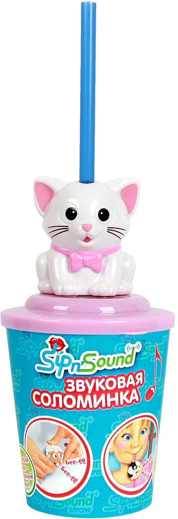 Музыкальная игрушка Sip nSound Звуковая соломинка. Кошка белая16006-2Когда в соломинку попадает жидкость, автоматически включается звуковое сопровождение в игрушке, как только жидкость перестает проходить через трубочку, звук автоматически выключается.