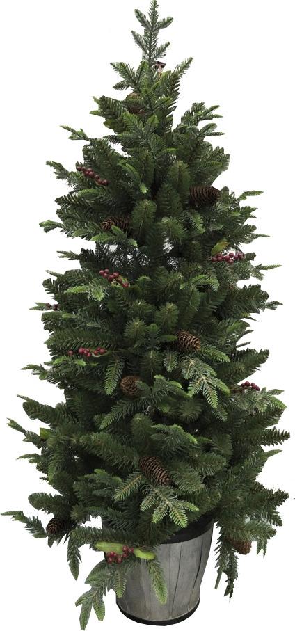 Ель искусственная Beatrees Winter Melody, напольная, высота 150 см ель искусственная beatrees st petersburg напольная высота 2 15 м