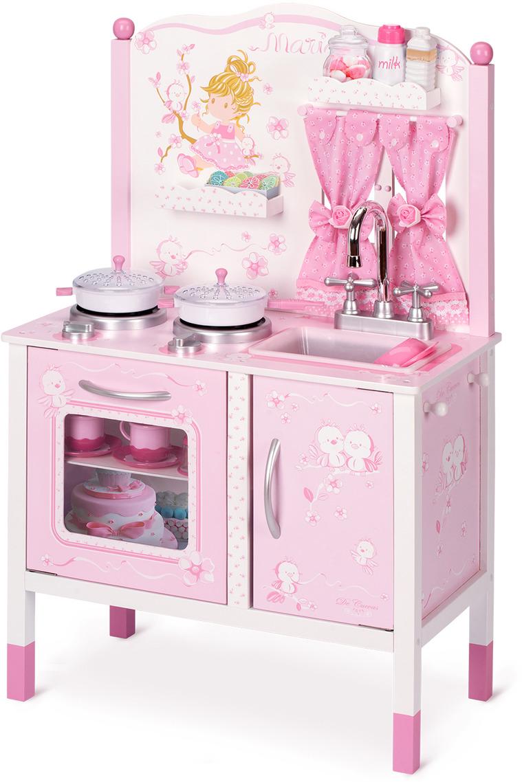 Мебель для кукол DeCuevas Мария. Кухонный центр с аксессуарами опция парта на бицепс body solid gpca 1
