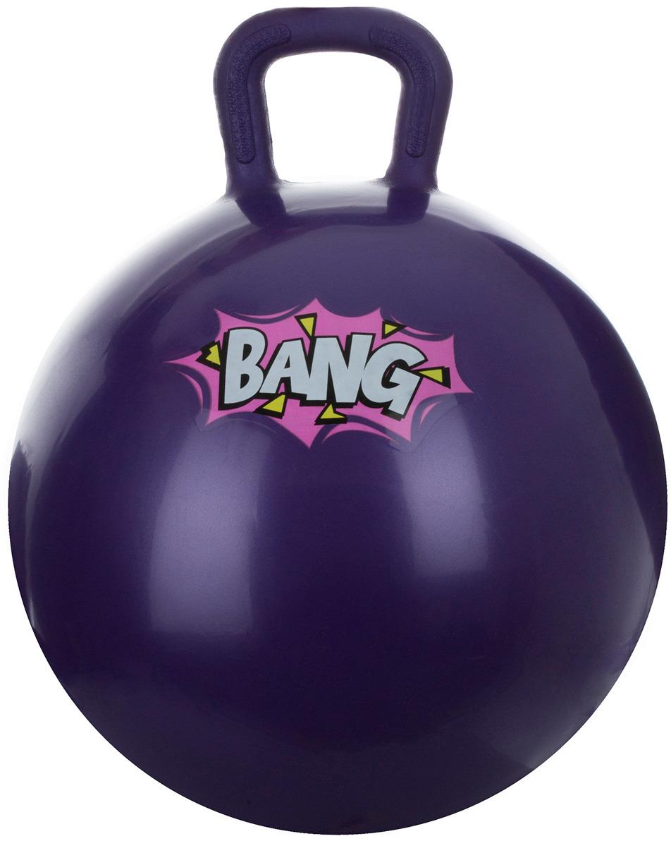 Мяч гимнастический Torneo, с насосом, цвет: фиолетовый, 45 см мяч гимнастический indigo in001 цвет голубой диаметр 75 см