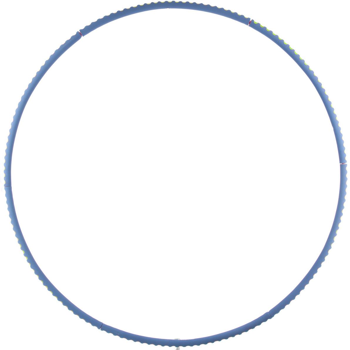 Обруч для фитнеса Torneo, цвет: синий torneo обруч массажный torneo magic bio
