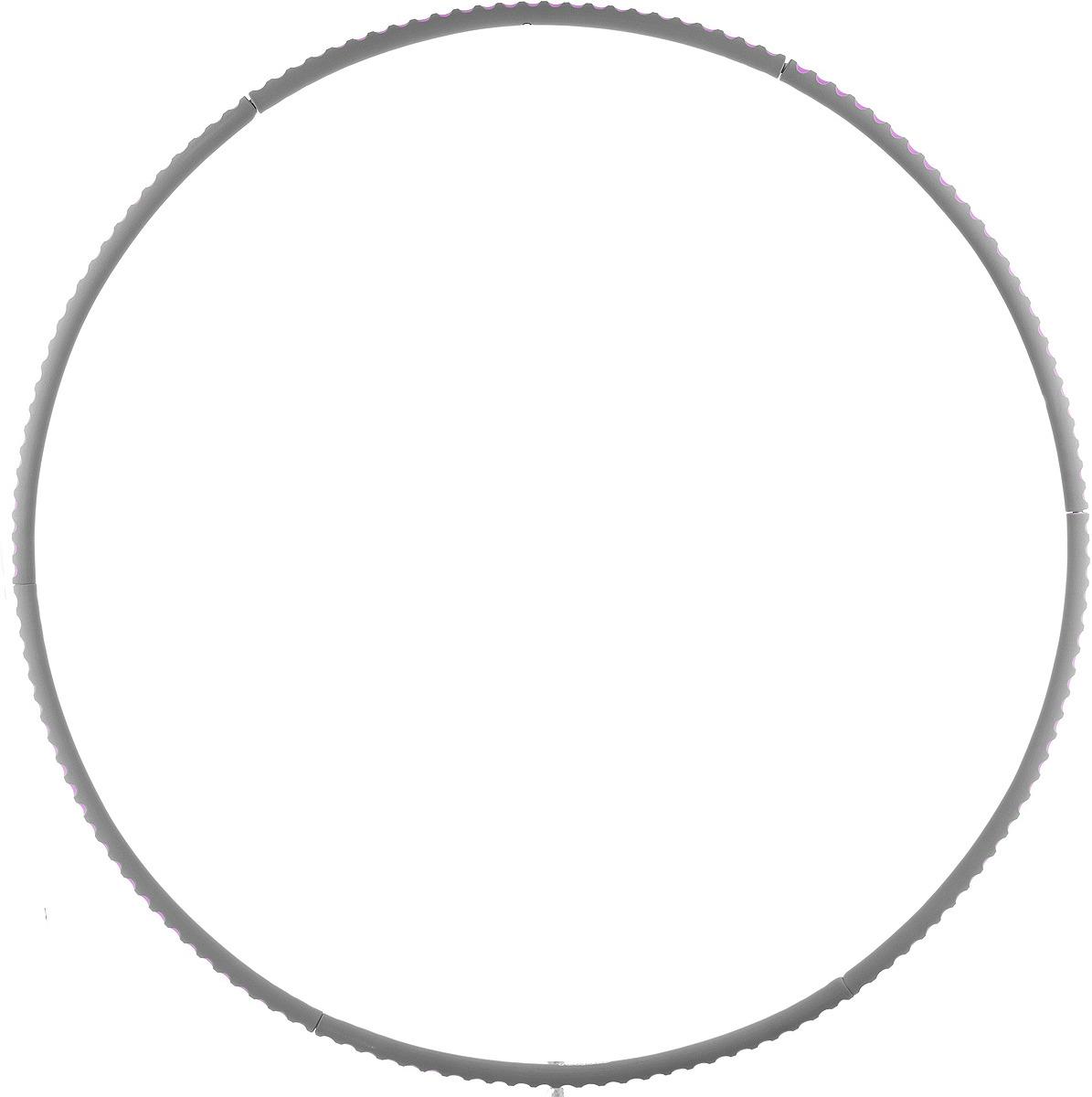 Обруч для фитнеса Torneo, цвет: серый torneo обруч массажный torneo magic bio