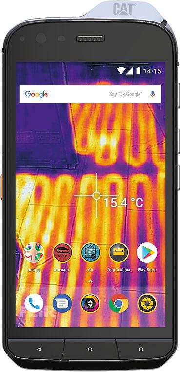 Смартфон CAT S61 4/64GB, черный caterpillar cat s61 black черный