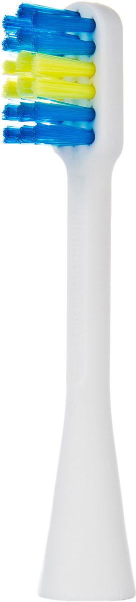 Насадка Hapica BRT-7 для электрической зубной щетки Kids, 2 шт хапика сменная насадка для зубной щетки ионная с щетинками одной длины 2шт brt 11