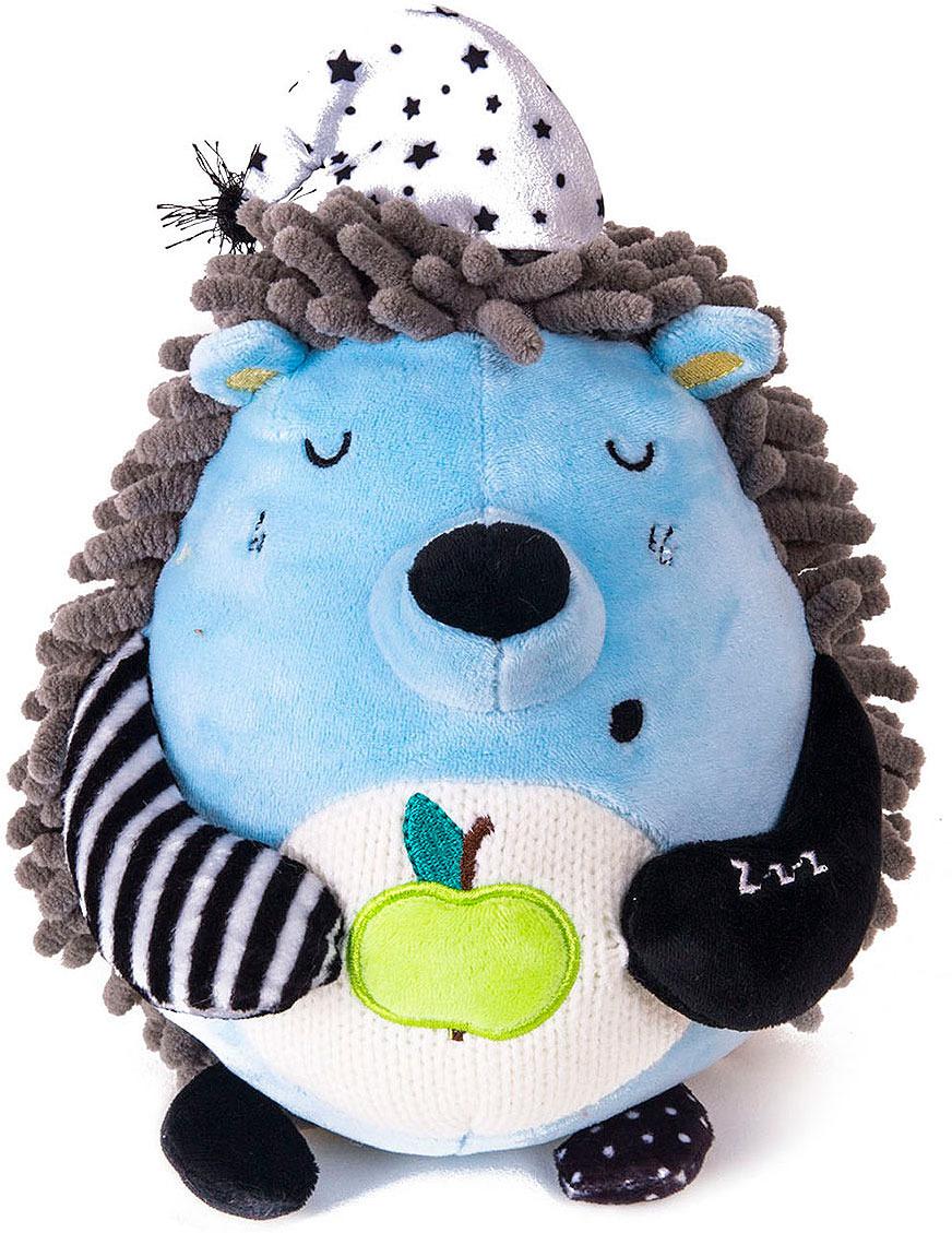 Мягкая игрушка Gulliver Ежик Засоня, 15 см gulliver ежик сидячий 17 см gulliver