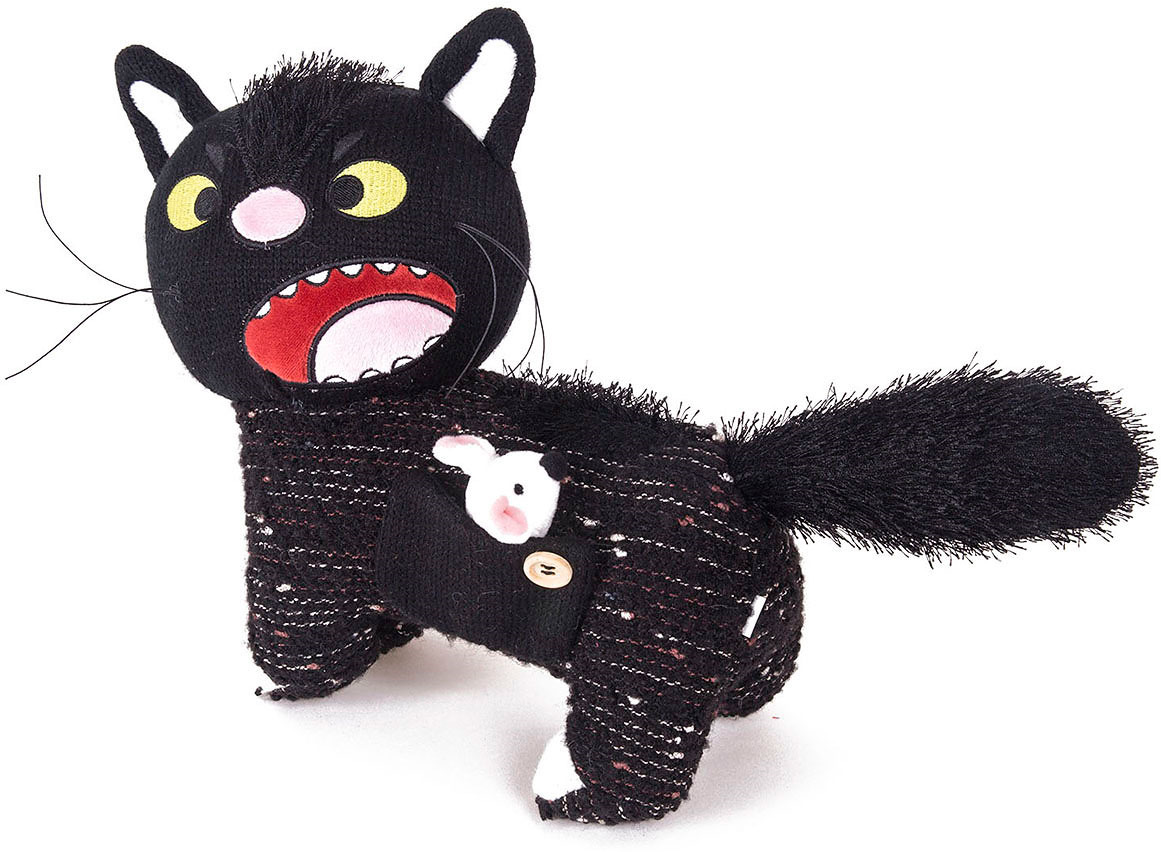 """Мягкая игрушка Gulliver """"Кот дурашка"""", 23 см"""
