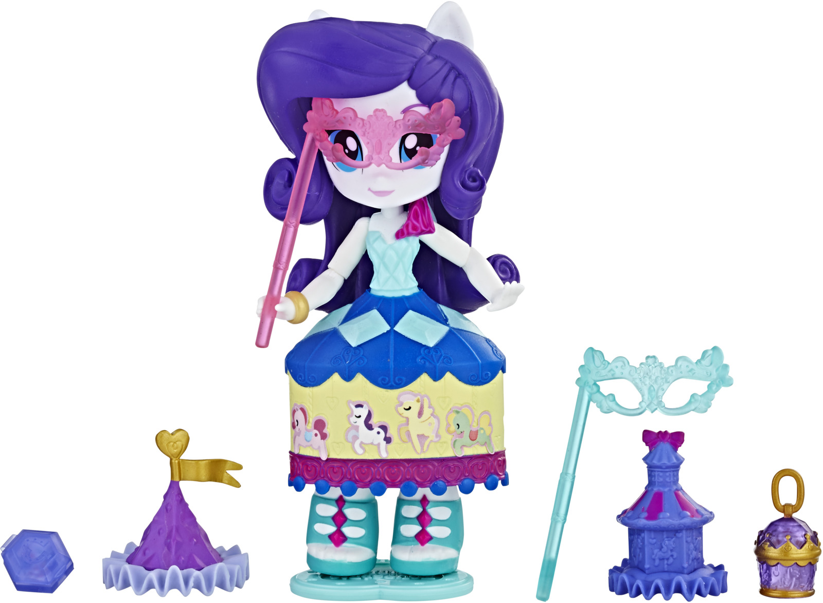 My Little Pony Equestria Girls Мини-кукла Rarity Costume Creations цена