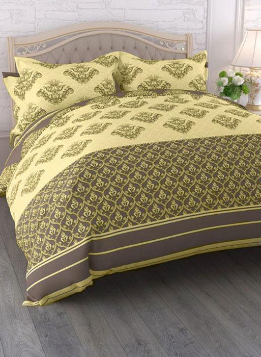 Комплект белья ЭГО Ария, 1,5-спальный, наволочки 70x70, цвет: разноцветный скатерть quelle эго 1024295 120х150