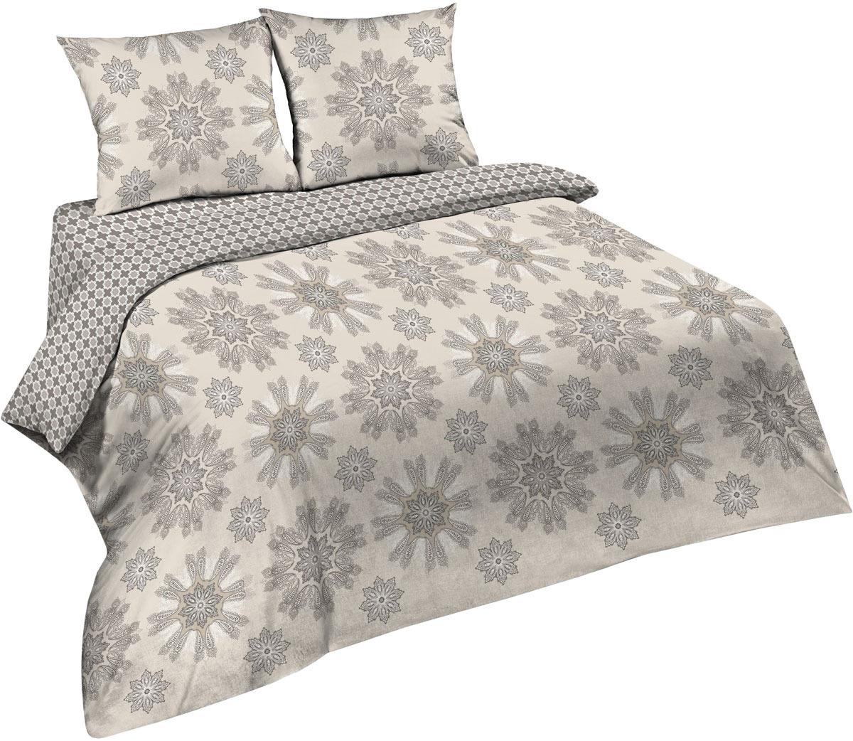 Комплект постельного белья Павлина Простые вещи, 2-х спальный, наволочки 70x70, цвет: серый александр вин простые очень простые вещи