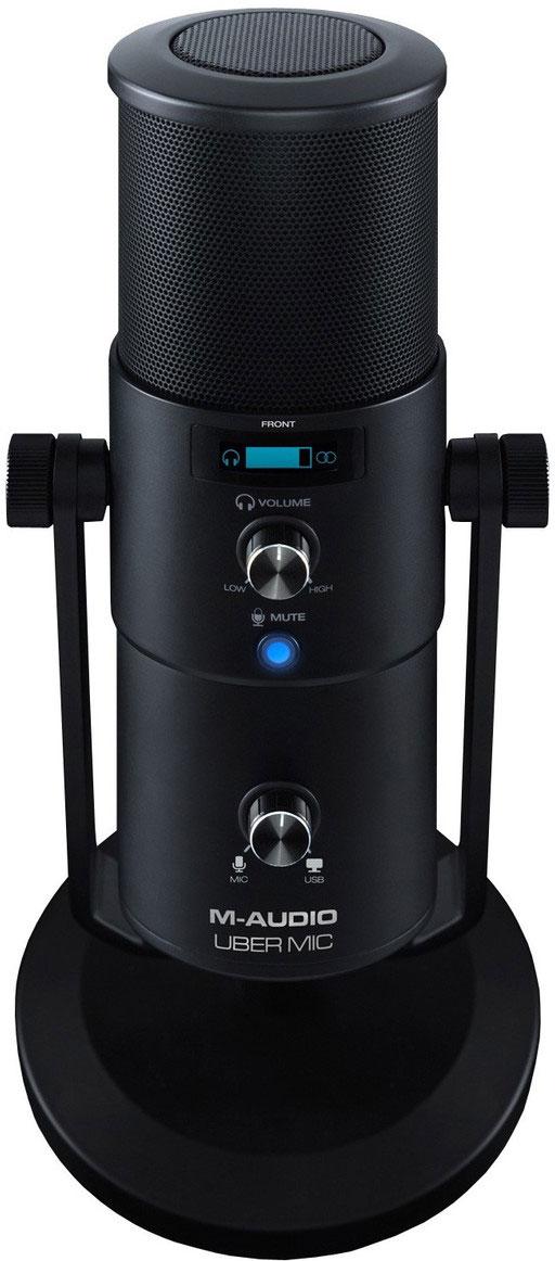 Микрофон студийный M-Audio Uber Mic цена