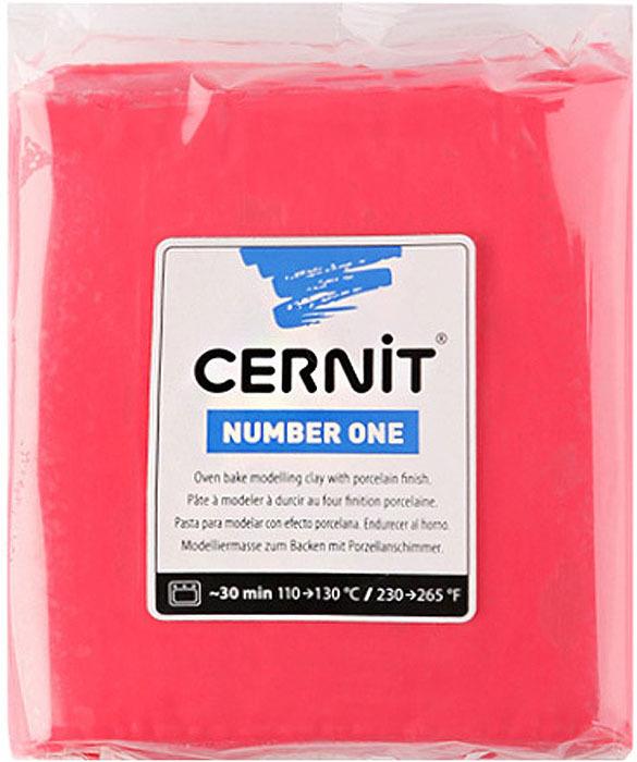 """Глина полимерная Cernit """"№1"""", запекаемая, цвет: красный, 250 г"""