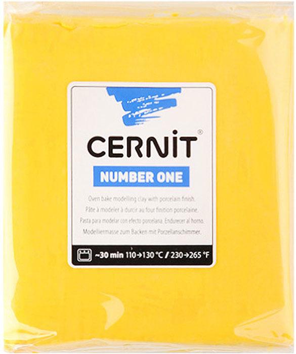 """Глина полимерная Cernit """"№1"""", запекаемая, цвет: желтый, 250 г"""