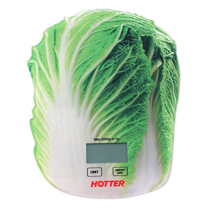Кухонные весы Hotter Весы кухонные Капуста HX-418 кухонные весы hotter hx 418 капуста