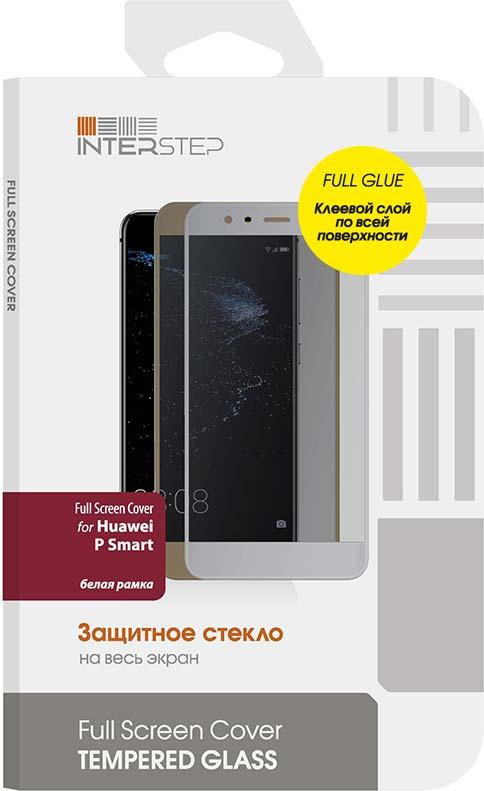 Защитное стекло Interstep 2.5D для Huawei P Smart, White цена