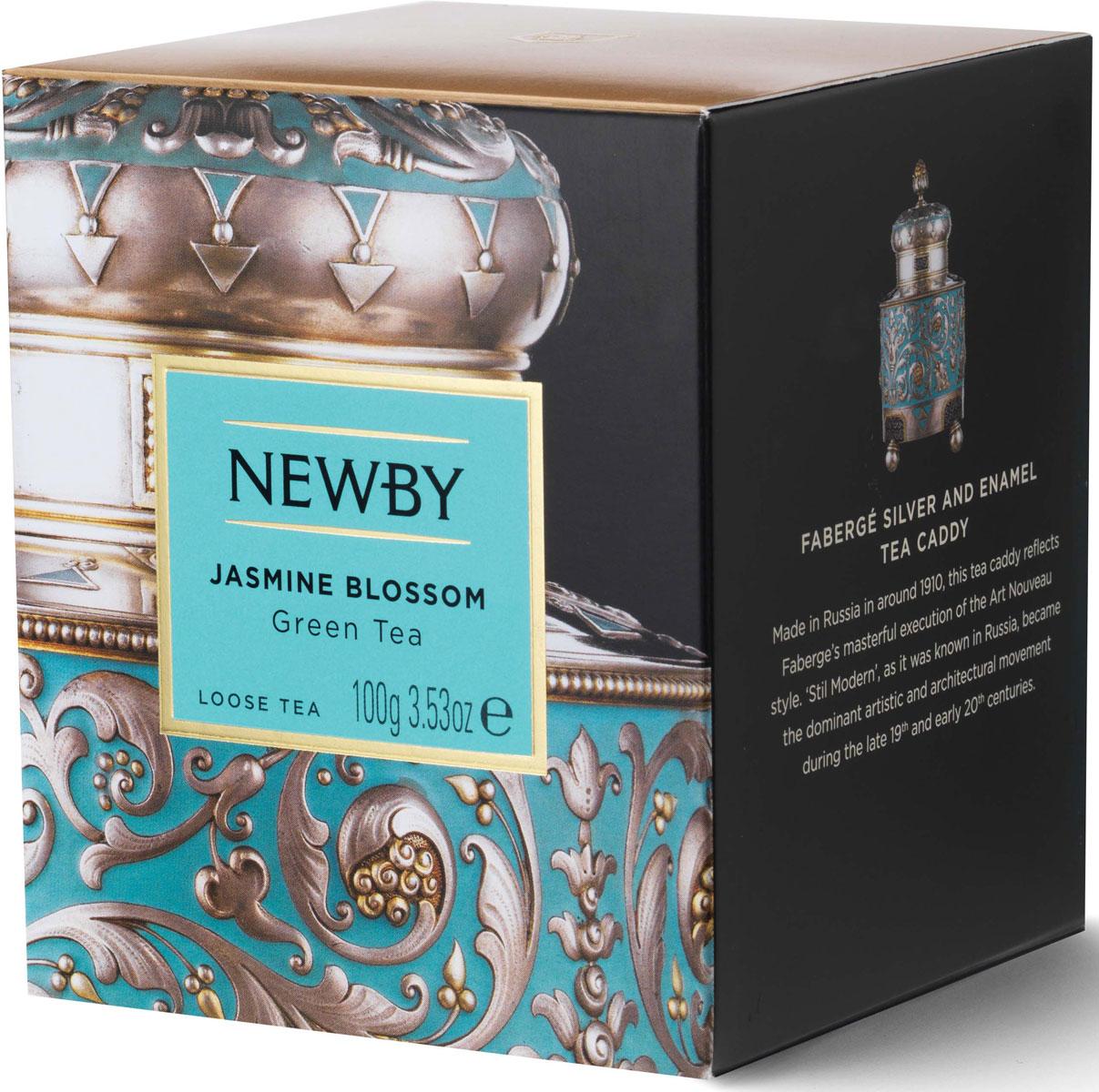 Чай листовой Newby Цветок Жасмина, 100 г цена в Москве и Питере