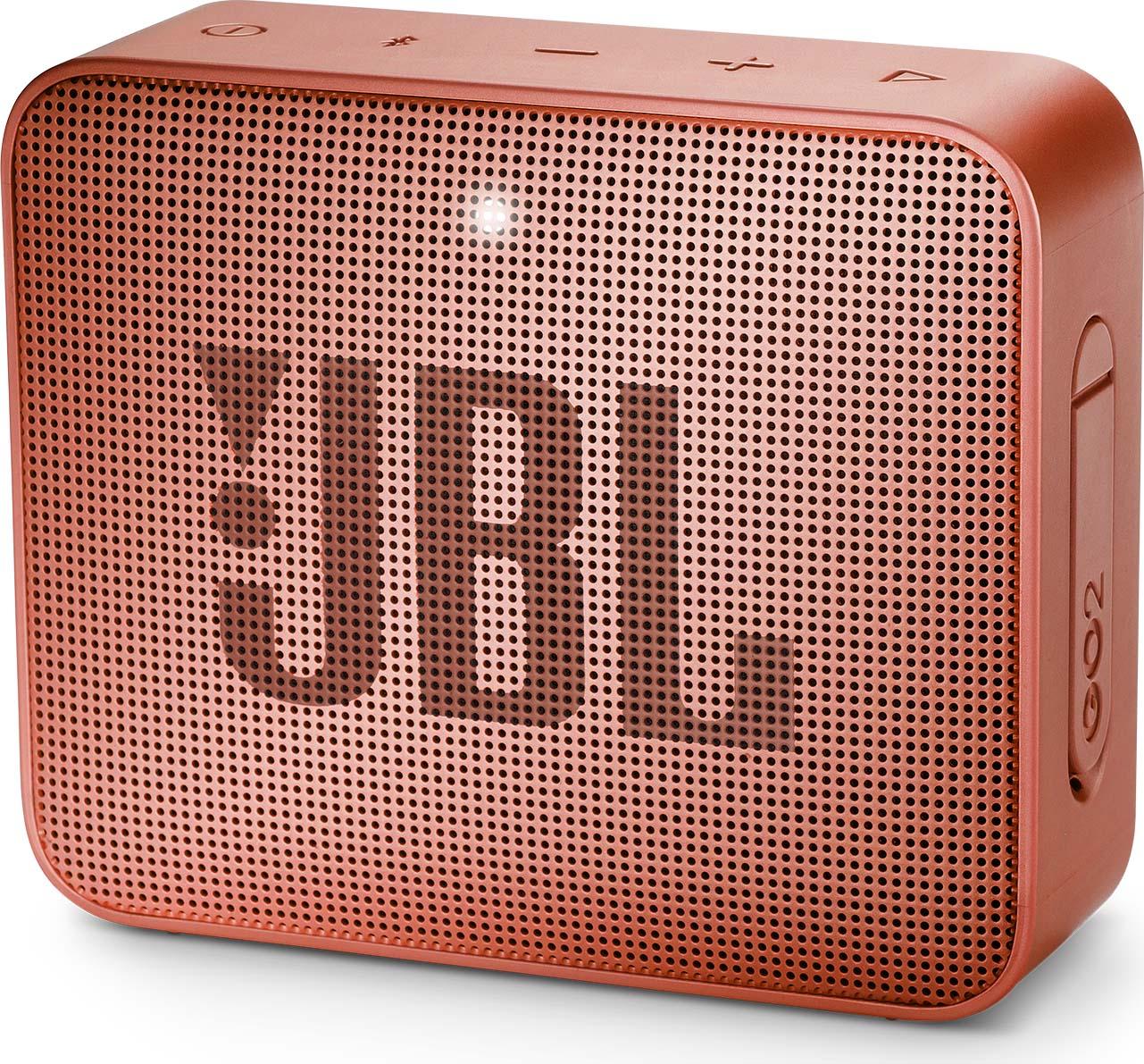 Беспроводная колонка JBL Go 2, Cinnamon беспроводная колонка jbl go 2 cinnamon