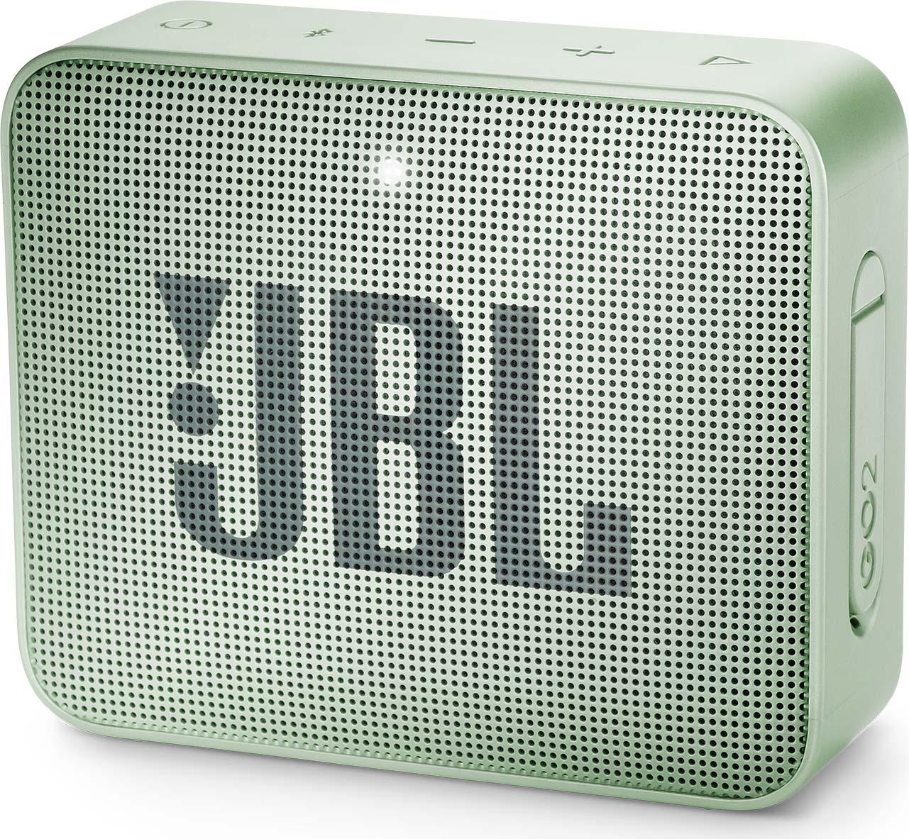 Беспроводная колонка JBL Go 2, Mint logitech ue megaboom беспроводной bluetooth ipx7 водонепроницаемый дизайн большой размер портативный динамик фиолетовый