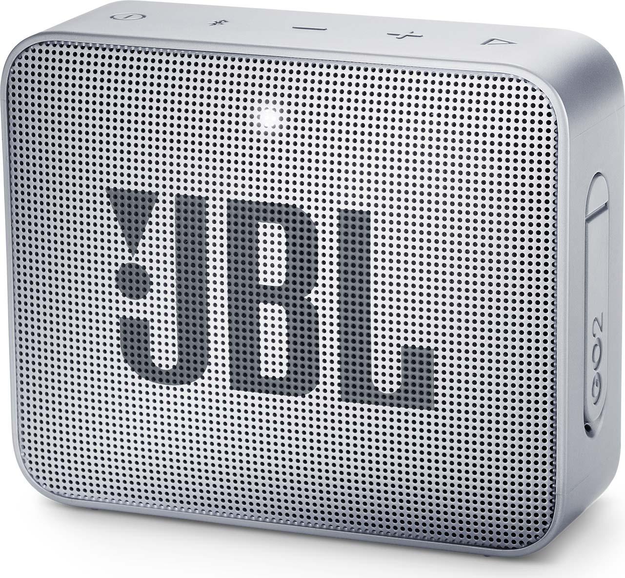 Беспроводная колонка JBL Go 2, Gray logitech ue megaboom беспроводной bluetooth ipx7 водонепроницаемый дизайн большой размер портативный динамик фиолетовый