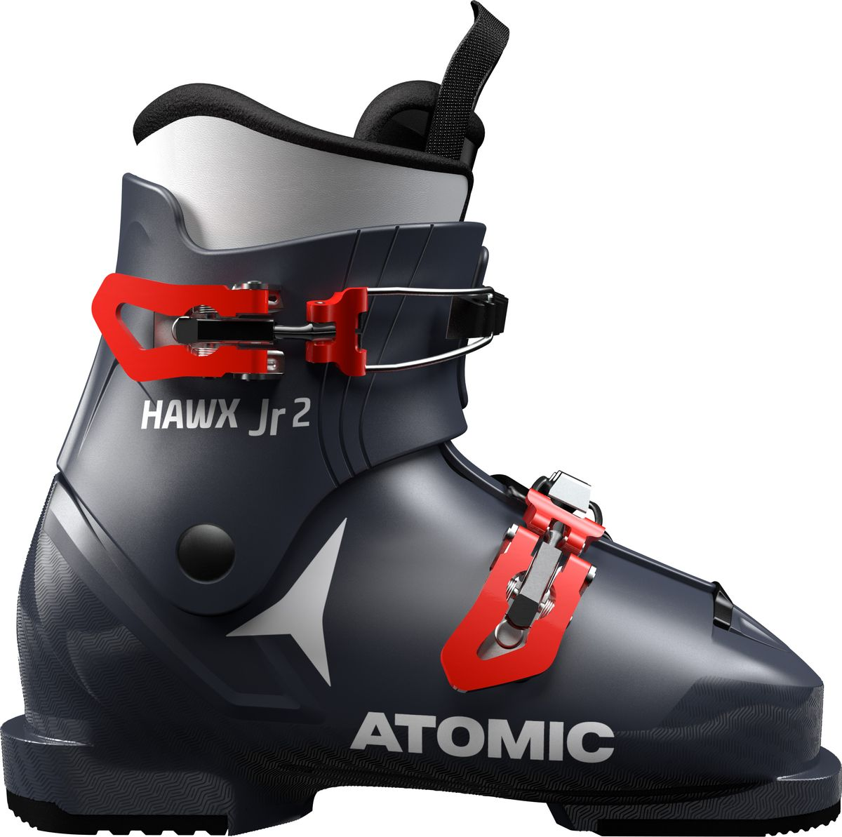 Ботинки горнолыжные Atomic Hawx Jr 3, цвет: темно-синий, зеленый. Размер 34,5/35