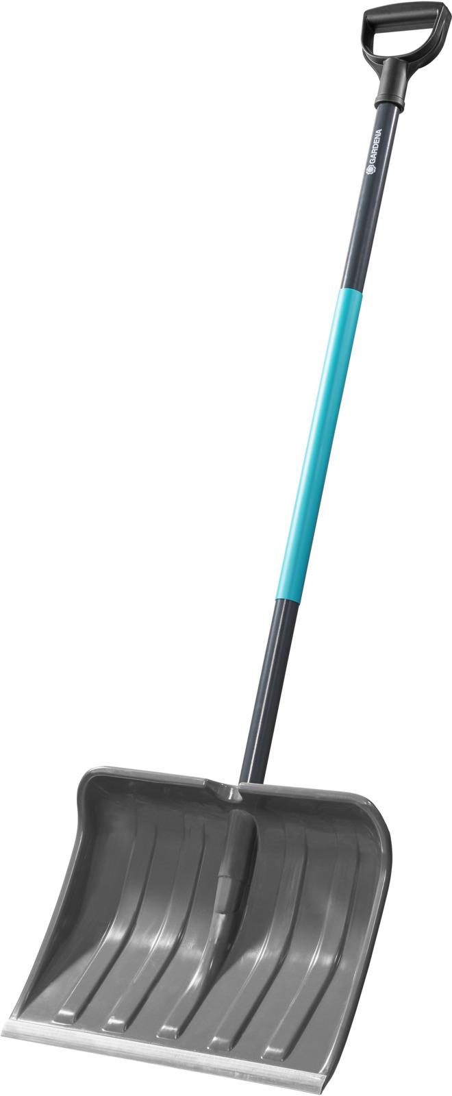 Лопата для уборки снега Gardena ClassicLine, цвет: бирюзовый, серый, 40 см