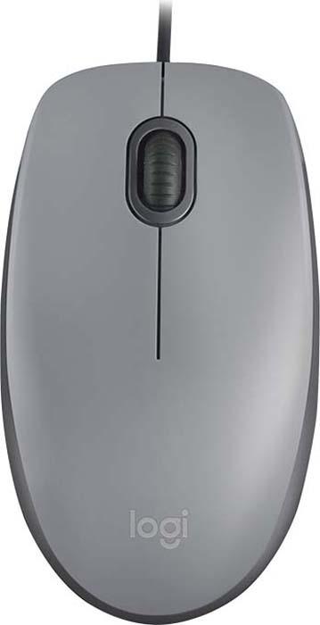 Мышь Logitech M110 SILENT Mid Grey USB (910-005490)