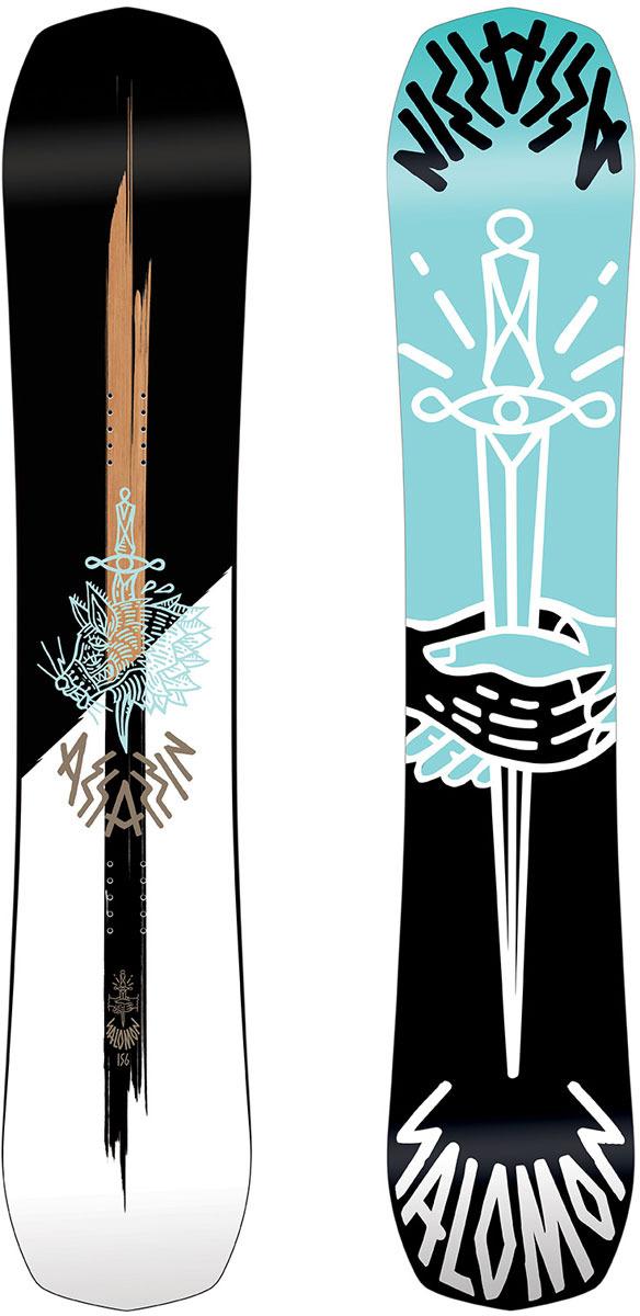 Сноуборд Salomon Assassin, цвет: черный, рост 156 см