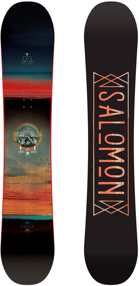 Сноуборд Salomon Pulse, цвет: черный, рост 149 см
