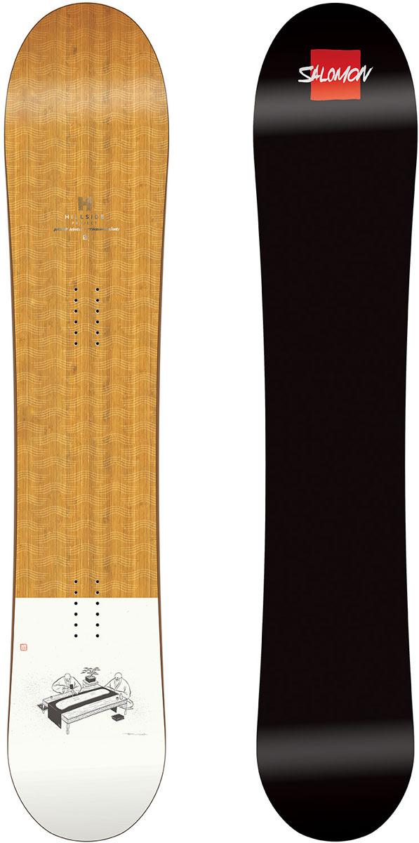 Сноуборд Salomon Taka, цвет: коричневый, рост 155 см