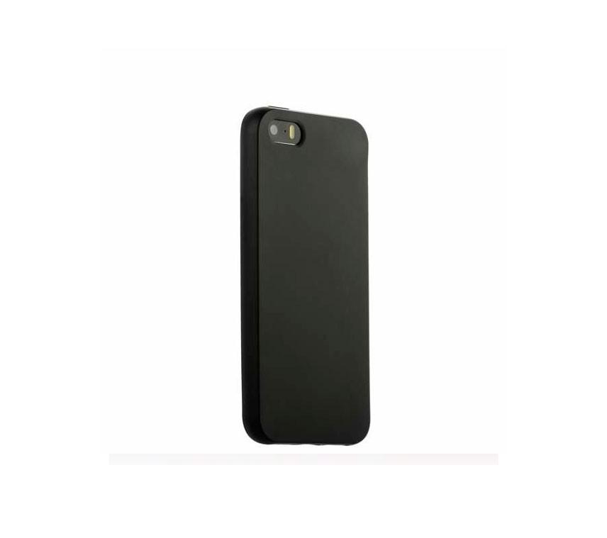 Чехол Eva для Apple IPhone 5/5s/5c, силиконовый, цвет: черный