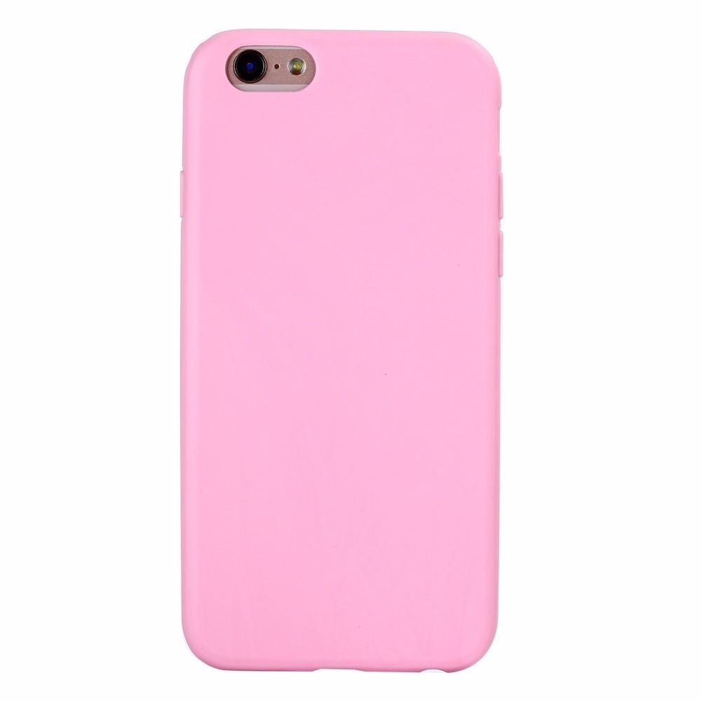 Чехол Eva для Apple IPhone 6/6s, силиконовый, цвет: розовый