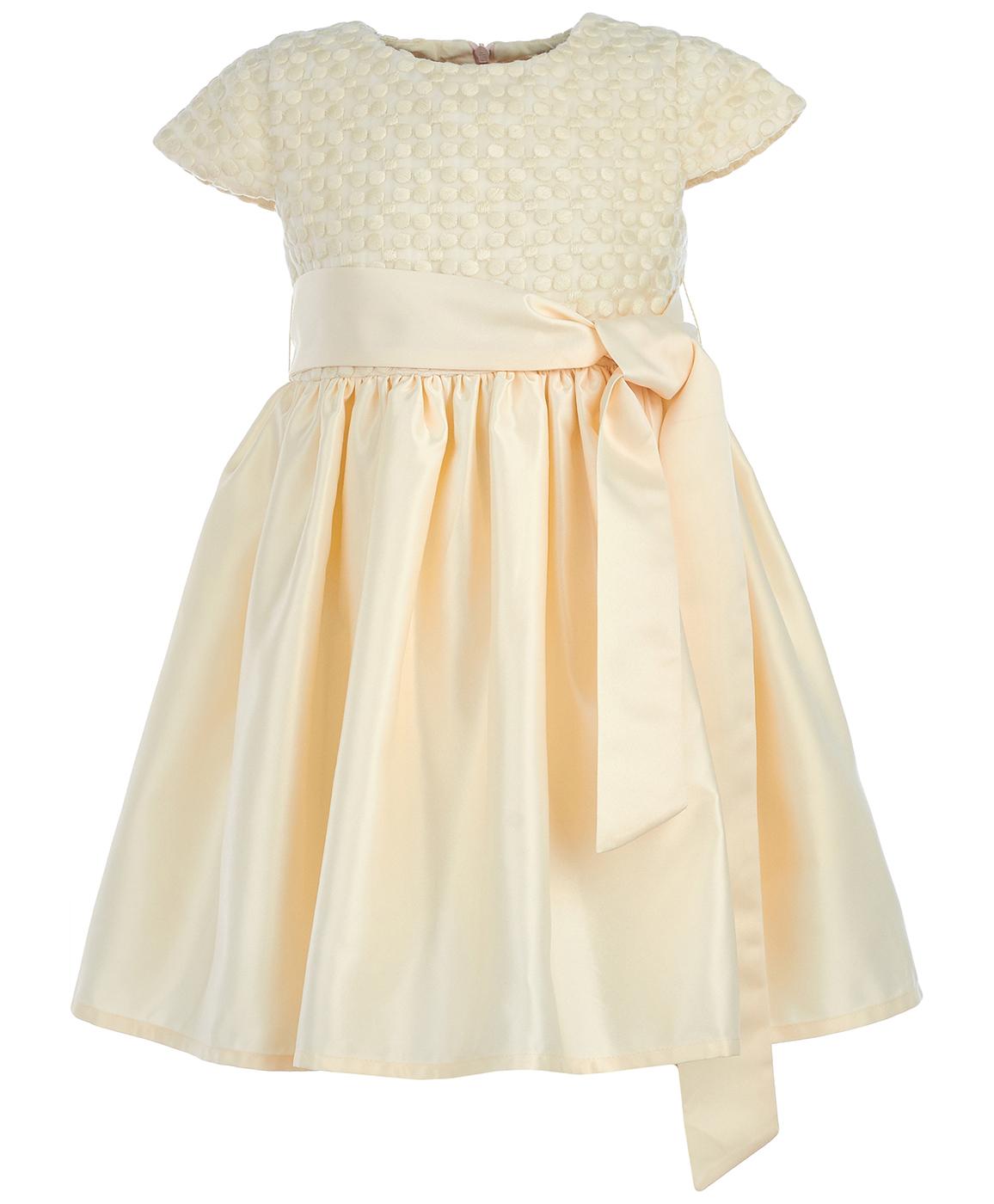 Платье для девочки Button Blue, цвет: белый. 218BBGP25051400. Размер 152218BBGP25051400Красивое праздничное платье для девочек поможет малышке стать звездой вечеринки. Нежное и легкое, оно создает романтичный образ, не в ущерб практичности. Модель от Button Blue отличается не только привлекательным дизайном, она удобна и комфортна, не стесняет движений и сделана из качественной ткани. Купить нарядное платье для девочки недорого можно в нашем интернет-магазине Button-blue.com.