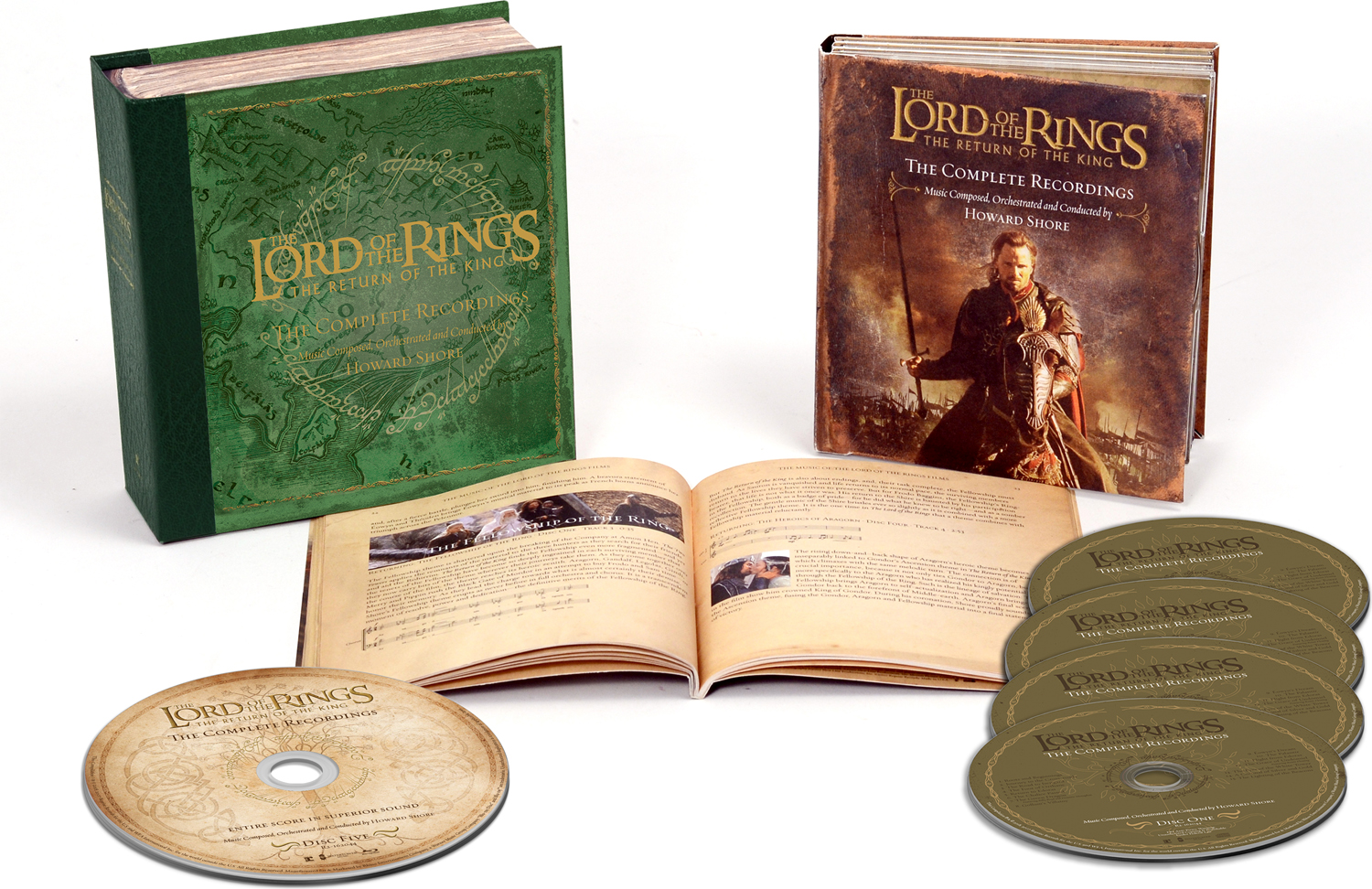 Ховард Шор Howard Shore. The Lord Of The Rings. The Return Of The King. The Complete Recordings (4 CD + Blu-Ray) tolkien j the return of the king the lord of the rings ч 3