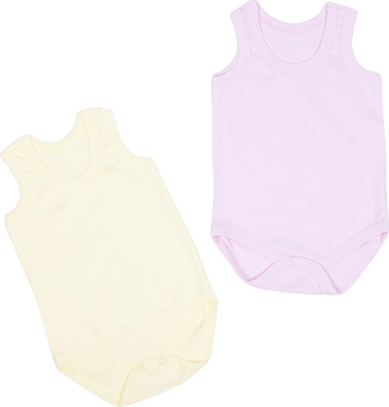 Комплект одежды Клякса боди детское клякса груша цвет белый желтый 11г 325 размер 56