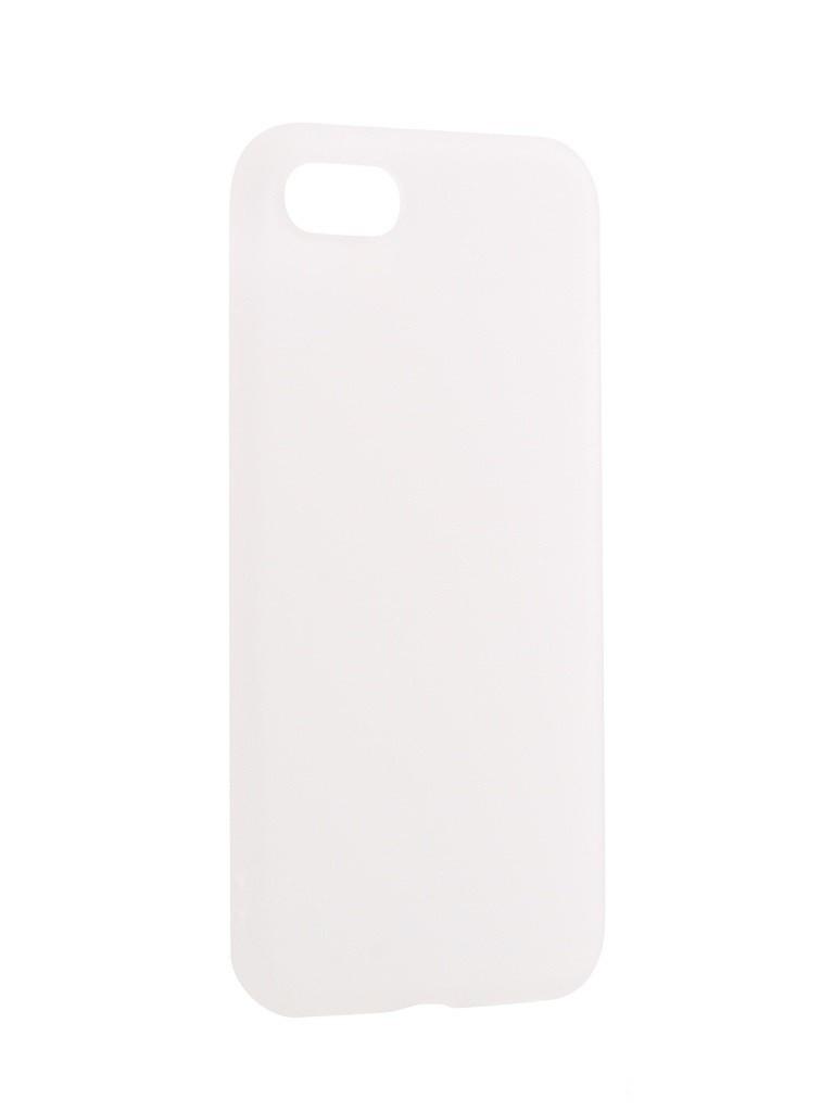 Чехол силиконовый EVA для Apple iPhone 7/8 - Белый локк rock iphone7 телефон оболочки apple 7 кронштейн силиконовый прозрачный tpu защитный рукав кронштейн оболочки
