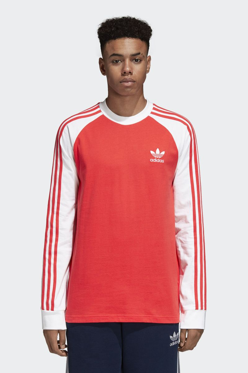 Футболка adidas 3-Stripes Ls T все цены