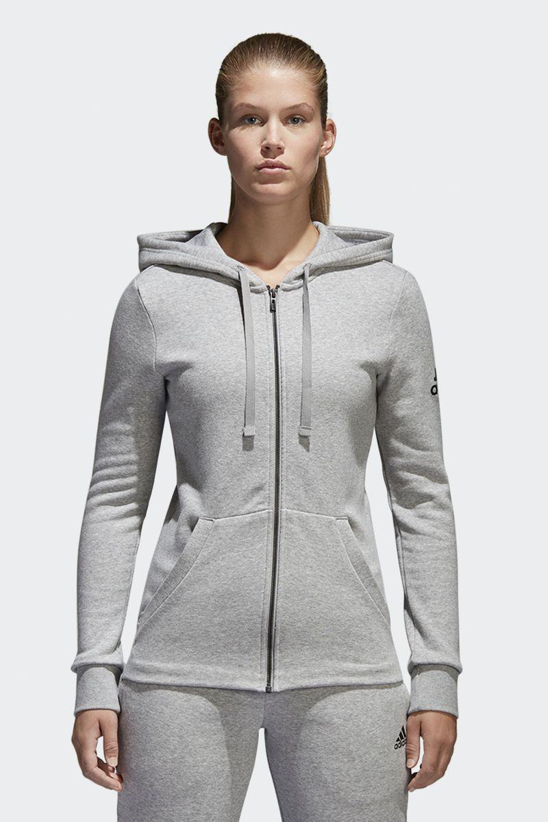 Худи adidas Ess Solid Fz Hd худи женское adidas ess lin fz hd цвет фуксия cz5718 размер l 48 50